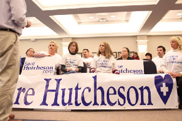 Catoosa Commission Meeting / Save Hutcheson Signs