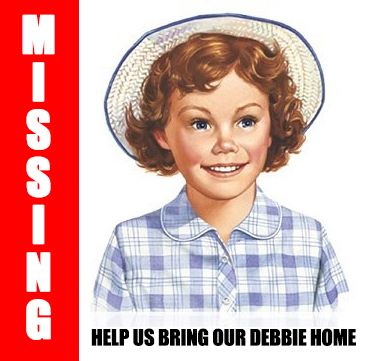 Little Debbie Missing Poster