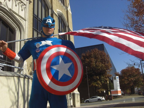 Allen Mullins of Dalton as Captain America