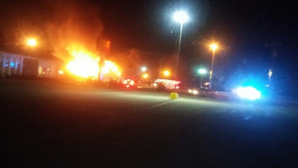 Golden Corral Fire / Early