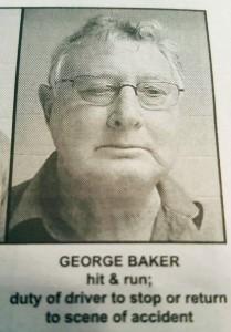 George Baker Mugshot