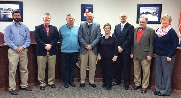 LaFayette City Council, Mayor, City Manager, & Clerk - January 2016