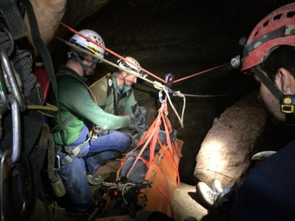 Rising Fawn Cave Rescue - Byers Cave / Hamilton County Cave Rescue Team