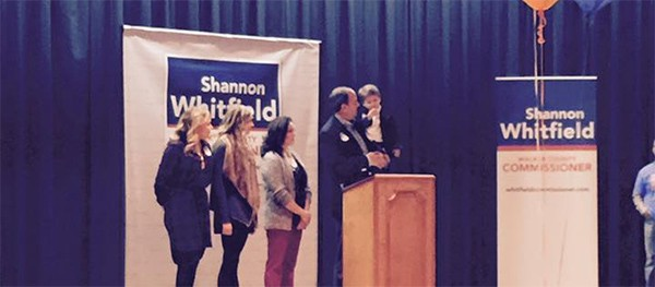 Shannon Whitfield Campaign Event