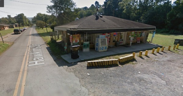 Hawkins Street Summerville Store Robbery Site