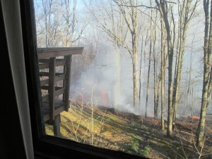 Lookout Mtn Fire / February 13 2016
