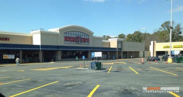 Food City Restriped Parking Lot