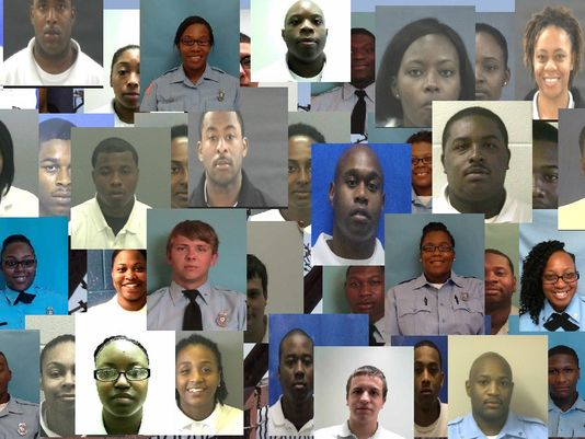 Prison Officer Arrest Collage / 11 Alive