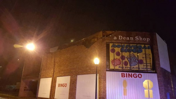 Rossville Bingo Hall Collapse