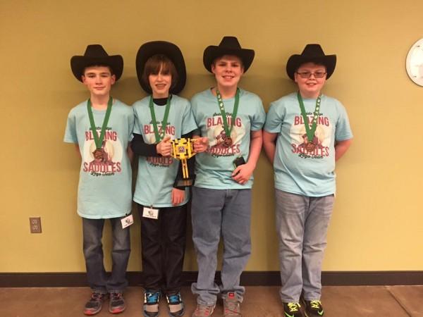 Saddle Ridge Blazing Saddles LEGO Robotics Championship