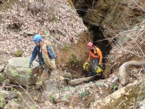 Pigeon Mountain / Ellisons Cave Rescue March 26 2016