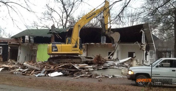 402 South Main St. Demolition