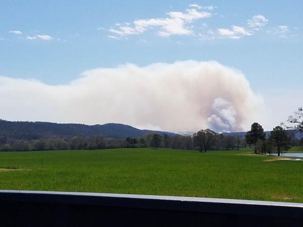 Villnow Area Controlled Burn