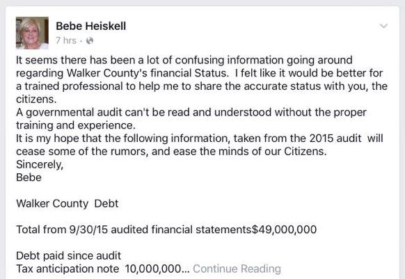 Bebe Facebook Audit Explanation