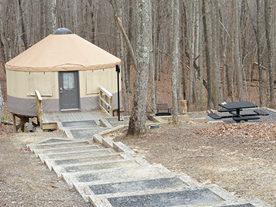 Cloudland Canyon Yurt / Chattanooga Pulse