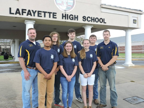 LHS FFA Team / Times Free Press
