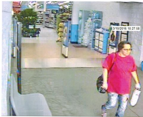 LPD Walmart Hit and Run Suspect