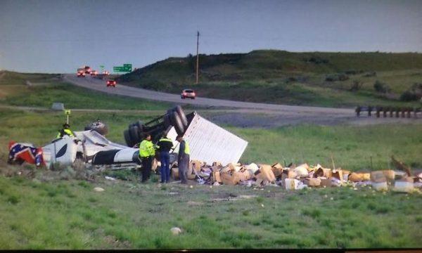 Whitlock Truck Crash in Idaho / KIVI TV