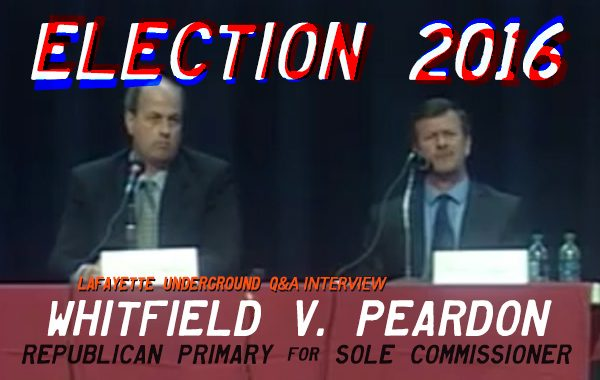 2016 ELECTION Q&A: WHITFIELD V. PEARDON