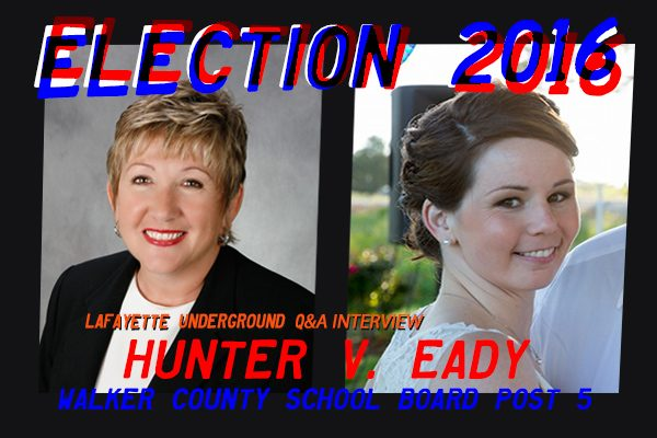 2016 ELECTION Q&A: HUNTER V EADY