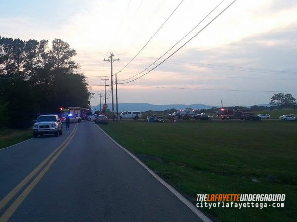 Twin Cedars Rd Wreck / May 26 2016