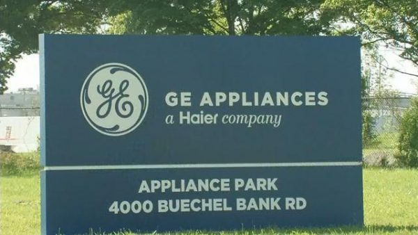 GE Appliances Sign After Haier Buyout / WDRB