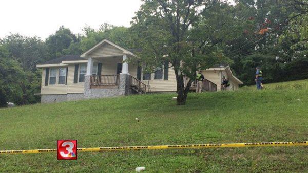 Catoosa County Robbery Scene - July 11 2016