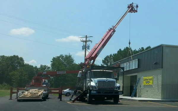 Old Trion Highway Dollar General Prepares to Open