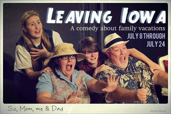 Leaving Iowa Poster / Back Alley Productions
