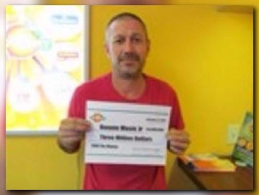 Lotto Winner Ronnie Music