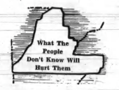 Walker County Messenger - What The People Don't Know Will Hurt Them