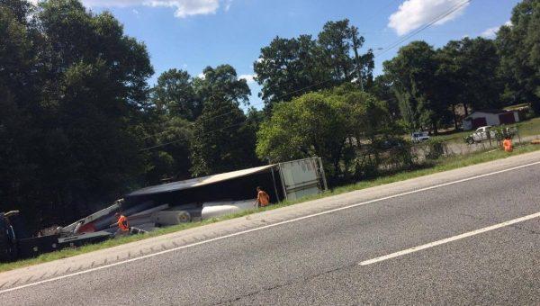 Houston County Semi Truck Accident - July 11 2016