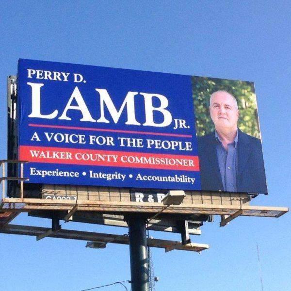 Perry Lamb Billboard