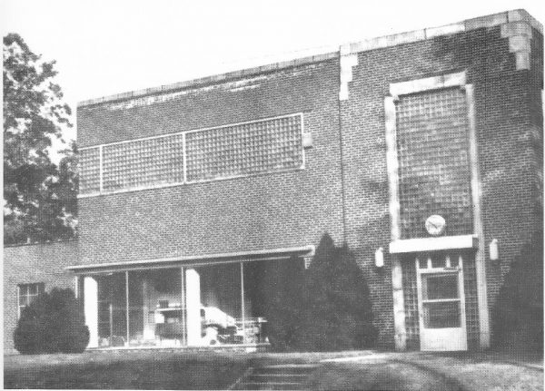 1940s/1950's Coca Cola Bottling Works - LaFayette Public Safety Building