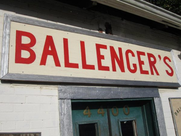 Ballenger's Restaurant Sign