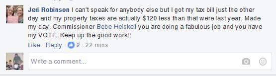 Jeri Robinson Heiskell Facebook