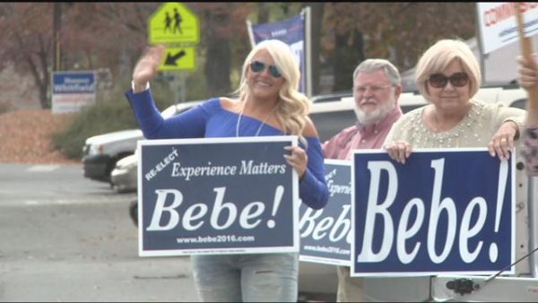 Bebe Heiskell Campaigning With Morgan Heiskell and John Culpepper
