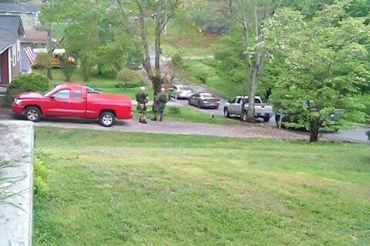 April 19, 2015 Meadowview Police Standoff